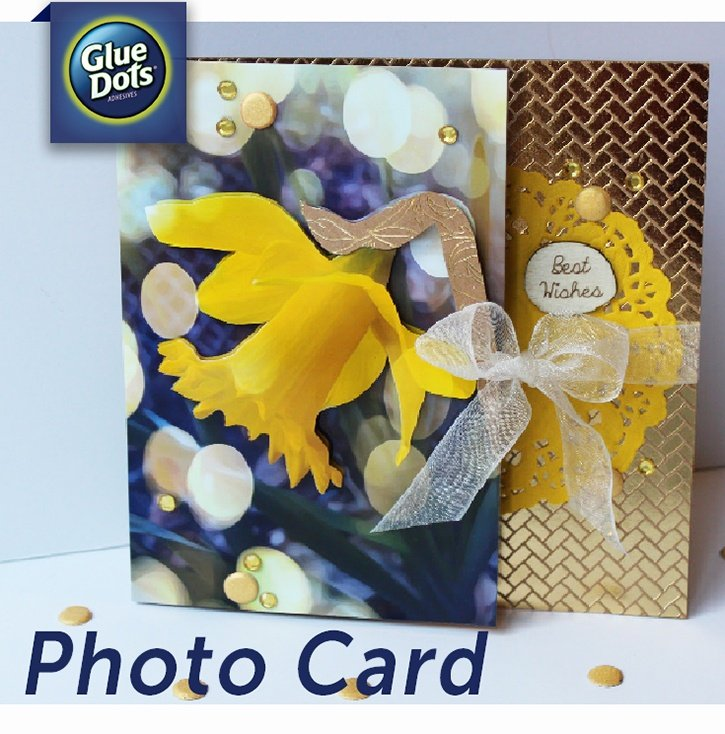 Make a 3D photo card with Pop Up Glue Dots!