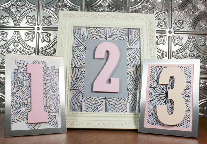 wedding-table-numbers-with-coloring-book-pages.jpg