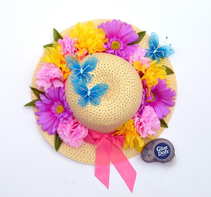 diy-spring-hat-wreath-adding-butterflies-advanced-strength-glue-dots.jpg