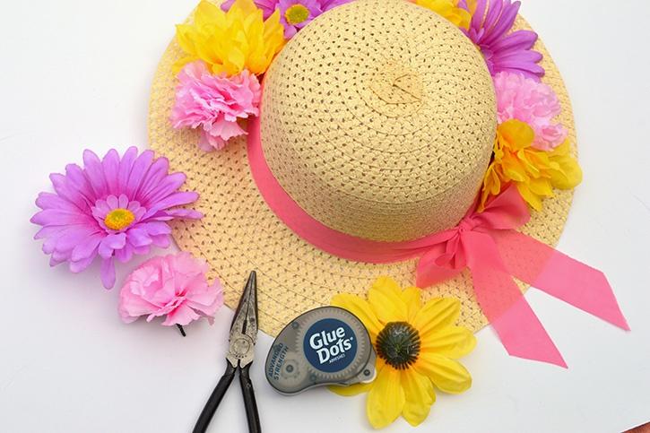diy-spring-hat-wreath-adding-flowers-advanced-strength-glue-dots.jpg