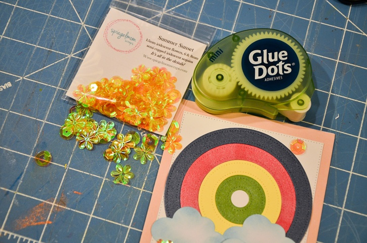rainbow-cards-adding-sequins-mini-glue-dots.jpg