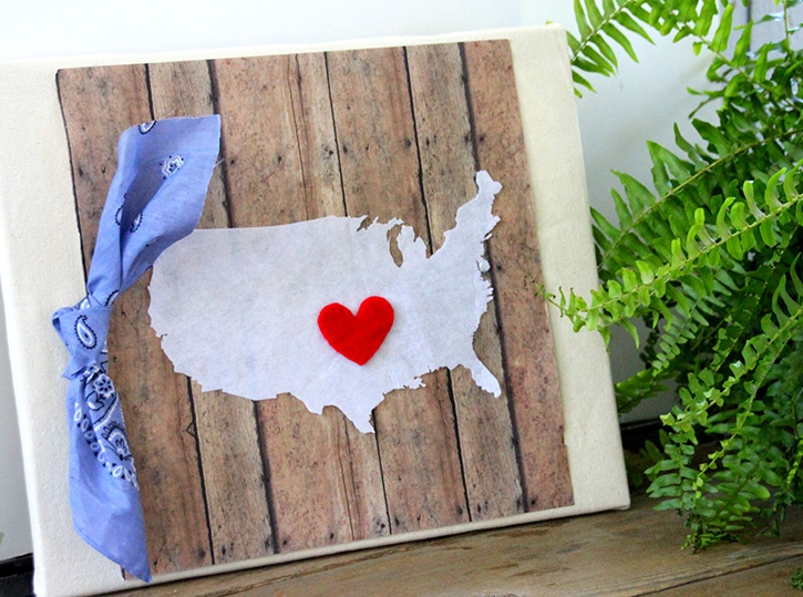 """Land I Love"" Canvas"