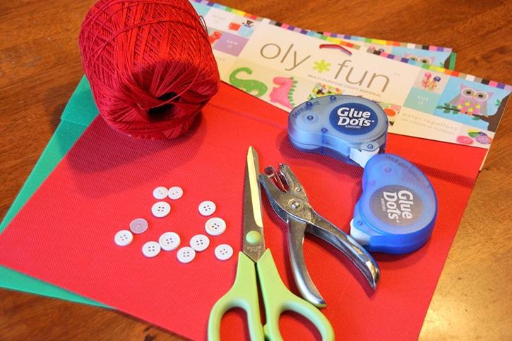 Strawberry Bag Kids Craft