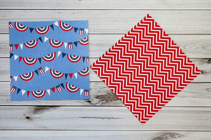 4th of July Utensil and Treat Cones-001