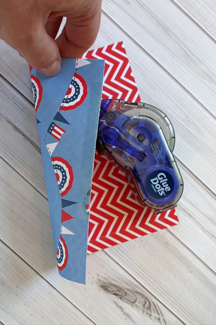 4th of July Utensil and Treat Cones-004