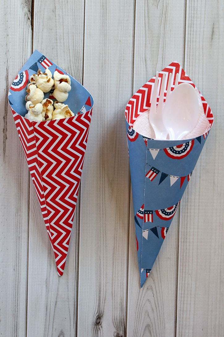 4th of July Utensil and Treat Cones-006