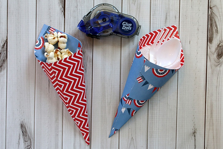 4th of July Utensil and Treat Cones-007