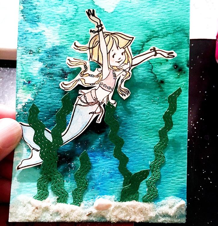 mermaid attach