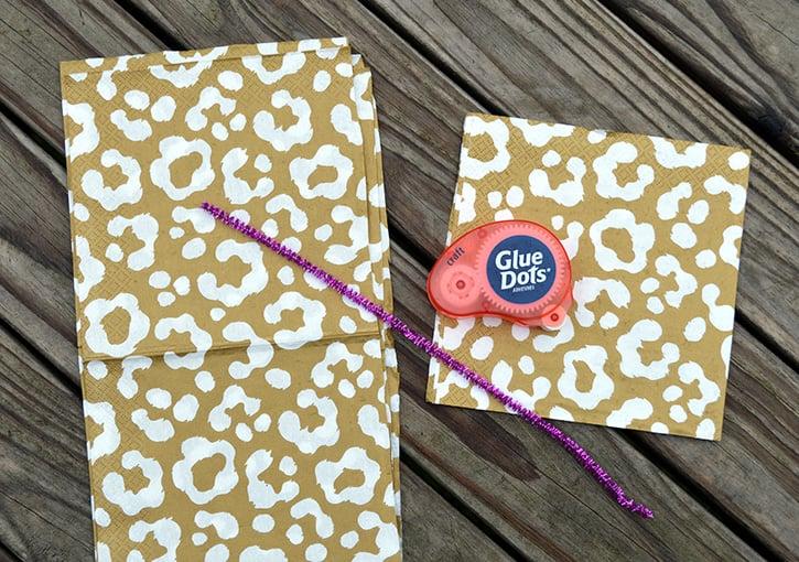 Glue-Dots-New-Years-Door-Decor-pompom-supplies