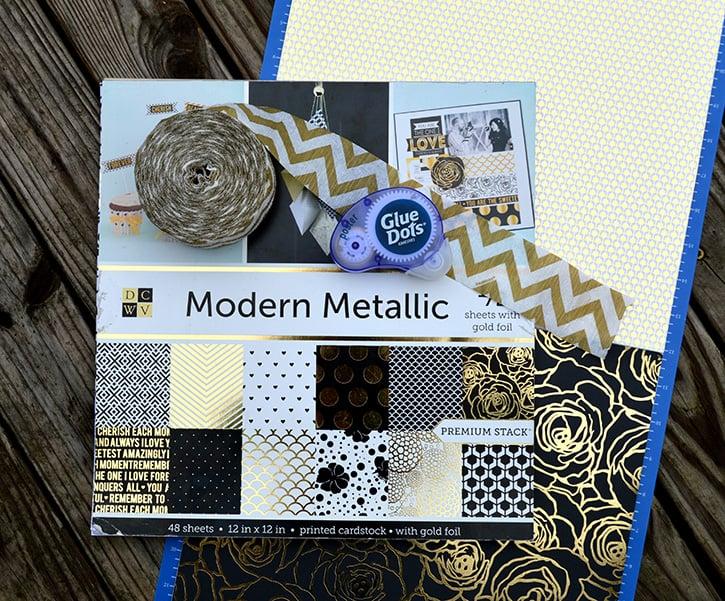 Glue-Dots-New-Years-Door-Decor-supplies