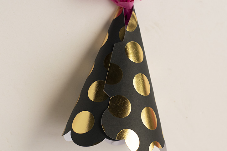 Glue-Dots-Party-Hat-attach