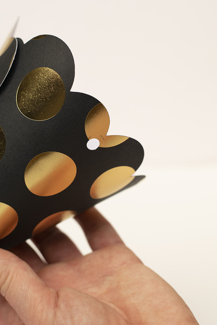 Glue-Dots-Party-Hat-hole-punch
