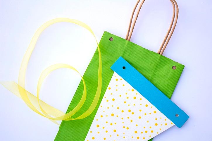 Banner Birthday Gift Bag ribbon step (2) copy