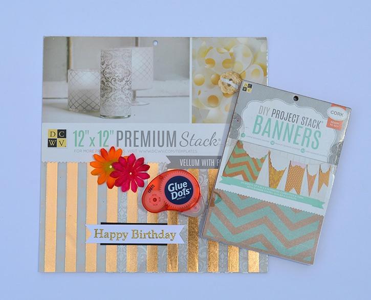 Birthday Banner  supplies dmb copy