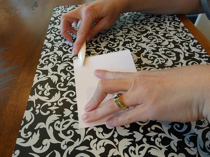 Glue-Dots-Christmas-Tree-card-bone-tool