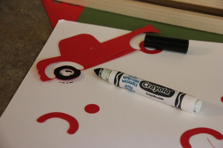 Glue-Dots-Christmas-crate-wheels