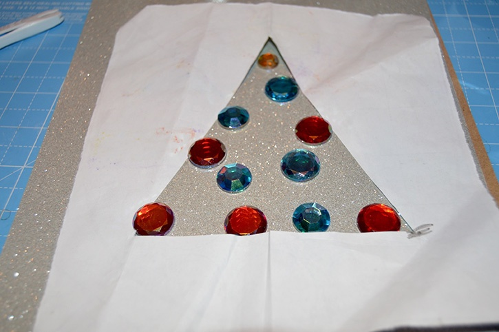 Glue-Dots-Glittering-Gem-Tree-apply