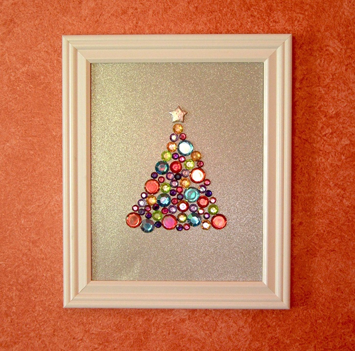 Glue-Dots-Glittering-Gem-Tree-finished