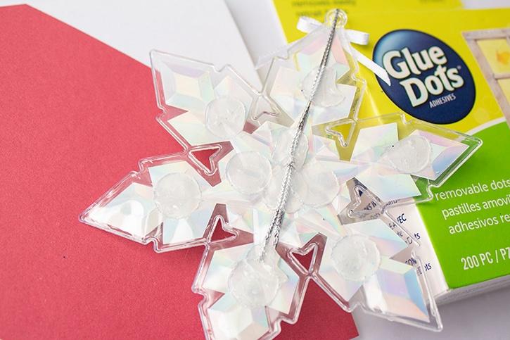 Glue-Dots-Removable-Ornament-Card-Set-removable-step
