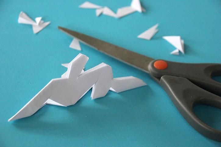 Glue-Dots-Snowflake-Canvas-cut