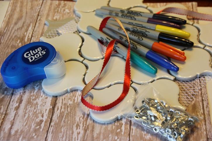 Glue-Dots-Tile-Keepsake-Ornament-supplies