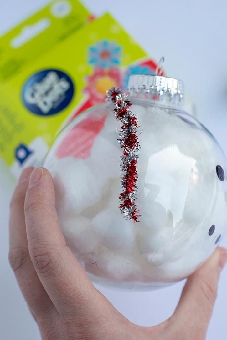 Melanie-East-Glue-Dots-Snowman-Ornament-headband-attach