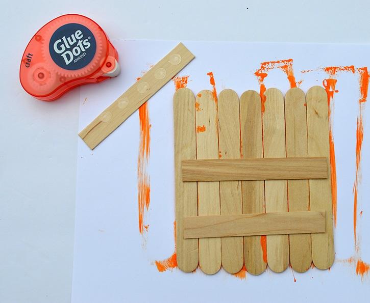 Jack O Lantern Kids Craft assembly dmb copy