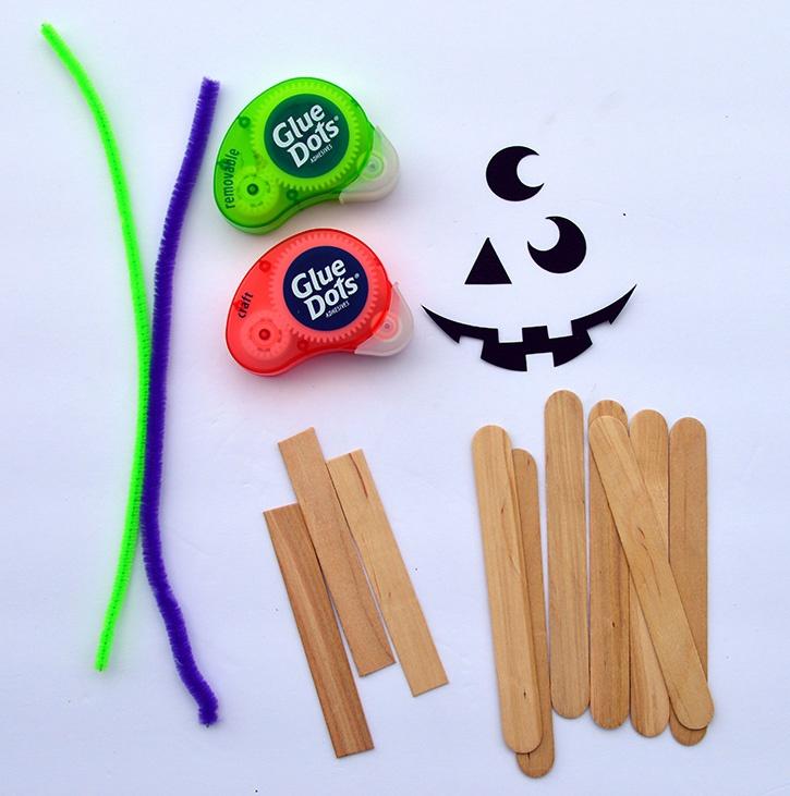 Jack O Lantern Kids Craft supplies dmb copy