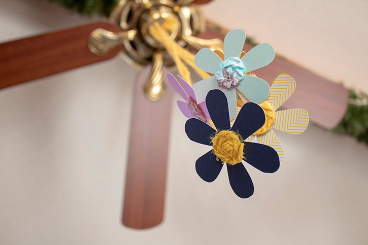 Hanging Flowers Kids Craft finished (2) copy