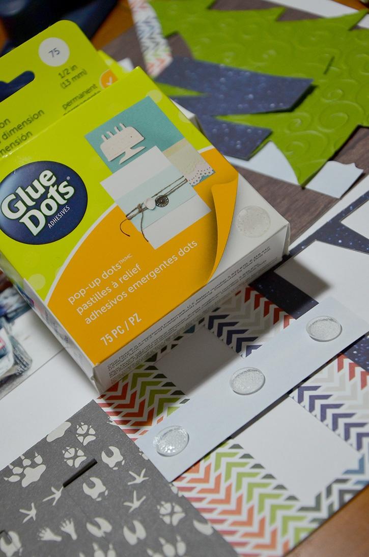 Glue-Dots-Grace-Tolman-Paper-House-Hunting-Layout-pop-up