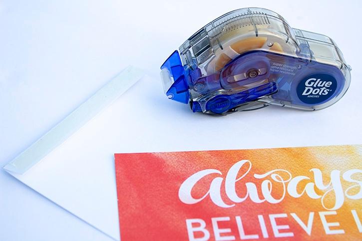 Glue-Dots-Paper-House-Believe-Scrapbook-Layout-gluetape 2 copy