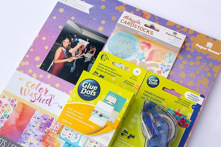 Glue-Dots-Paper-House-Believe-Scrapbook-Layout-supplies (2) copy