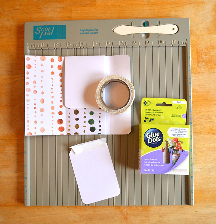Glue-Dots-Paper-House-Pocket-Journal-extra-flaps