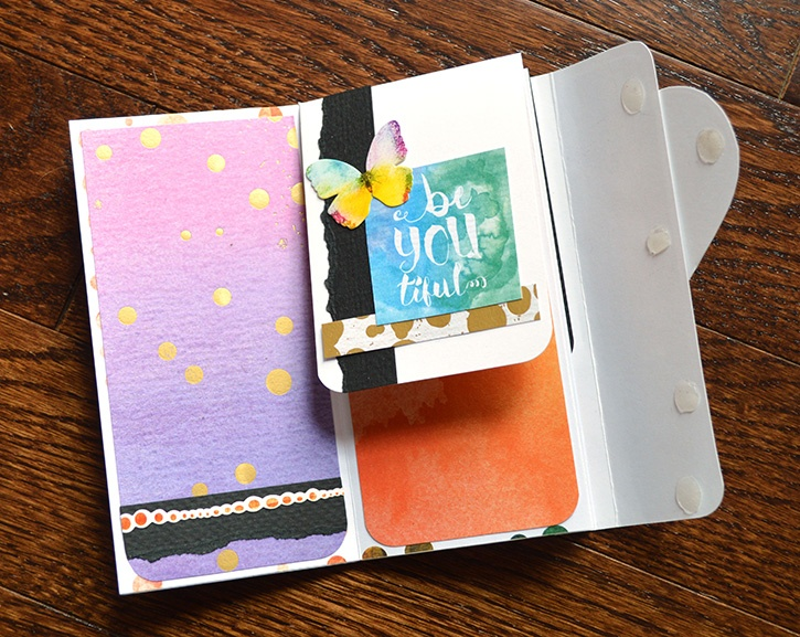Glue-Dots-Paper-House-Pocket-Journal-finished-inside
