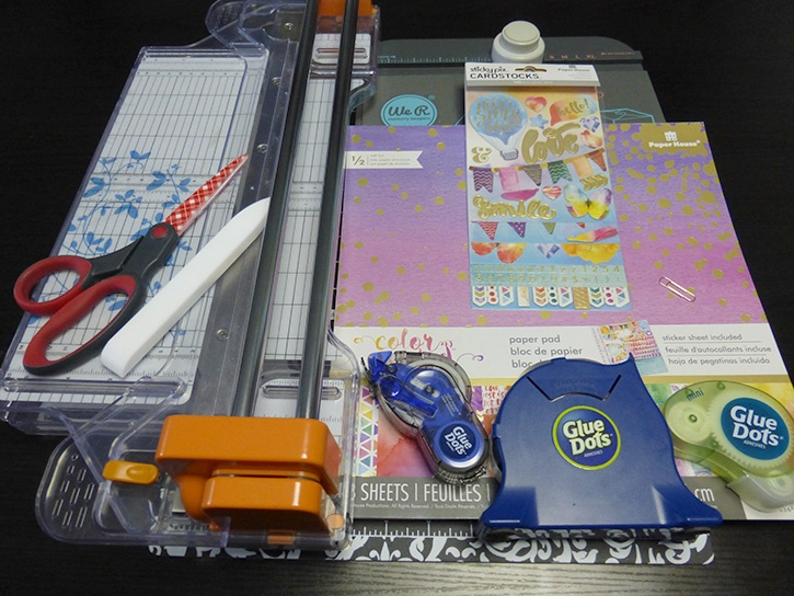Glue-Dots-Paper-House-Treat-Box-Supplies