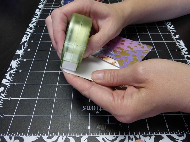 Glue-Dots-Paper-House-Treat-Box-close