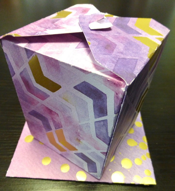 Glue-Dots-Paper-House-Treat-Box-finished-card