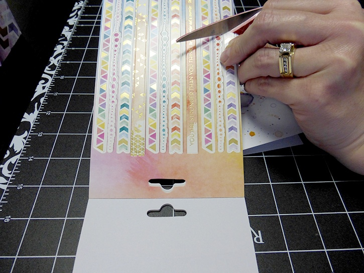 Glue-Dots-Paper-House-Treat-Box-stickers
