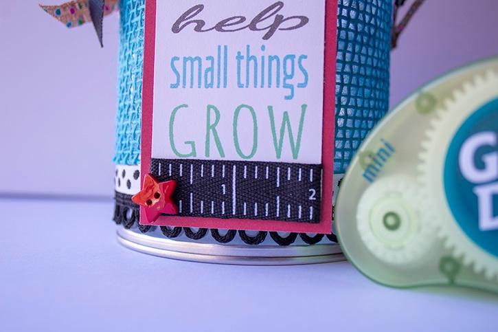 Teachers Help Small Things Grow close-up