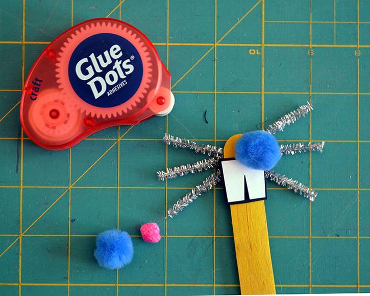 Glue-Dots-Bunny-Photo-Prop-attach