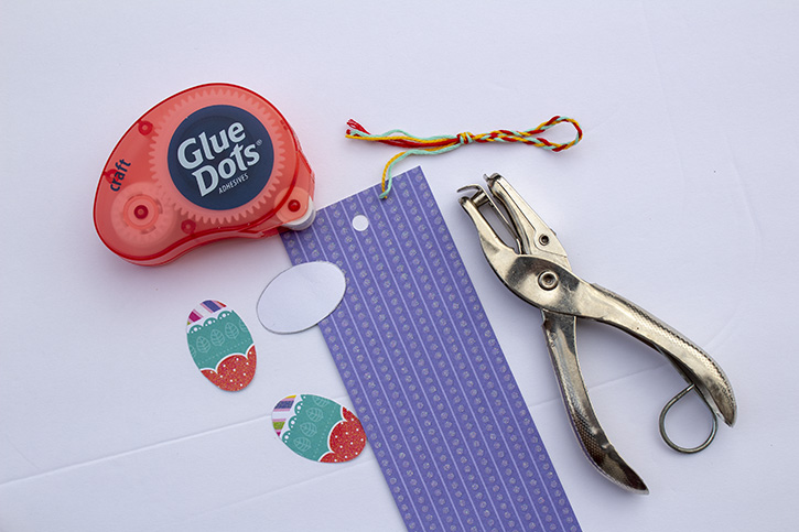 Glue-Dots-Easter-Bookmark-Card-craft