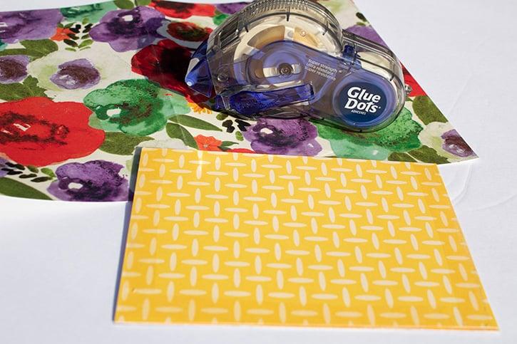 Glue-Dots-Easter-Bookmark-Card-gluetape
