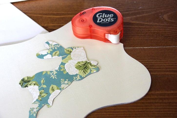 Glue-Dots-Floral-Bunny-attach