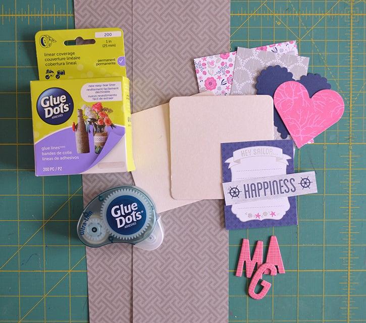 Glue-Dots-Brag-Book-supplies