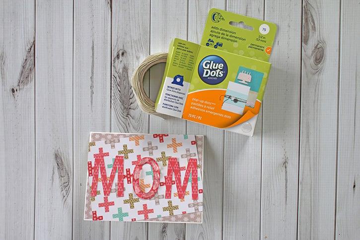 Glue-Dots-Mom-Shaker-Card-pop-up