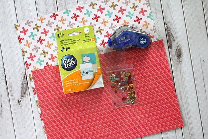 Glue-Dots-Mom-Shaker-Card-supplies