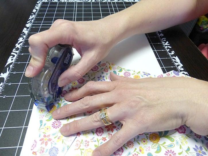 Glue-Dots-Mom-Treat-Bag-gluetape