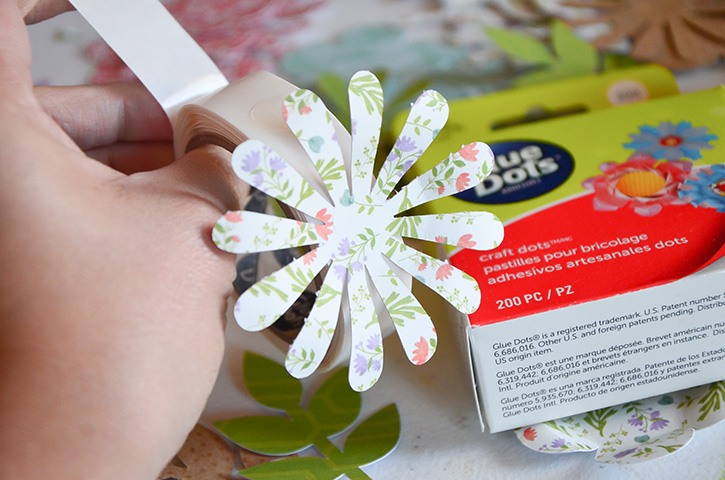 Glue-Dots-Purse-Treat-Bag-craft