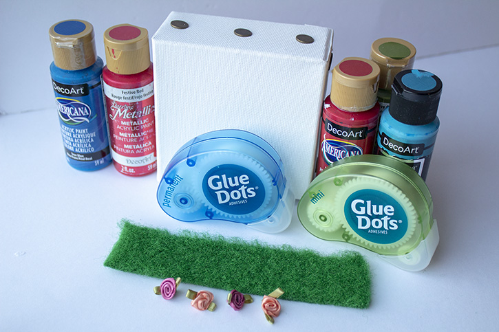 Glue-Dots-Mini-Canvas-supplies