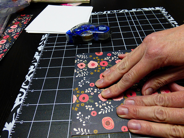 Glue-Dots-Websters-Pages-DIY-Notebook-cover